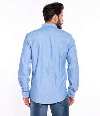 Рубашка Regular длинный рукав Lee Cooper SERGEN 2121 BLUE