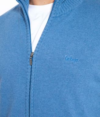 Кардиган на молнии Lee Cooper TOPAZ 9144 BLUE