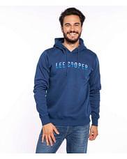 Толстовка с логотипом Lee Cooper AMARON 9093 BLUE