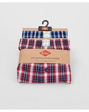 Трусы семейные Lee Cooper BOX10 0012 RED NAVY (2 штуки)