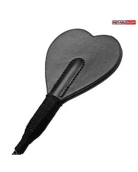 Черный стек с наконечником-сердечком