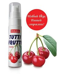 Гель-смазка Tutti-frutti - 30 гр.