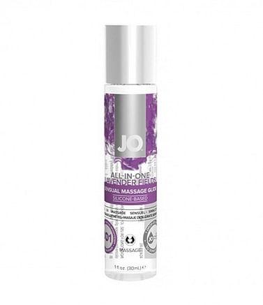 Массажный гель-лубрикант на силиконовой основе All-in-Оne Lavender с ароматом лаванды JO 30 мл