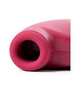 Красный вакуум-волновой бесконтактный стимулятор клитора Satisfyer One Night Stand
