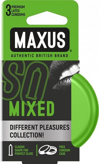 Презервативы в железном кейсе MAXUS Mixed