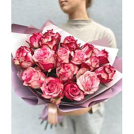 """Букет """"Осенняя роза"""" 17 роз"""
