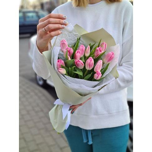 """Букет тюльпанов """"Розовые"""""""