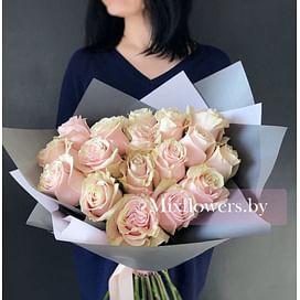 """Букет роз """"Лила"""" 17 роз"""