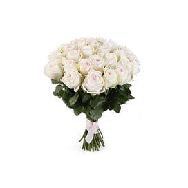 """Букет пионовидных роз """"Безупречный"""" 21 роза"""