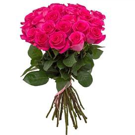 """Букет роз """"Малиновый"""" 21 роза"""