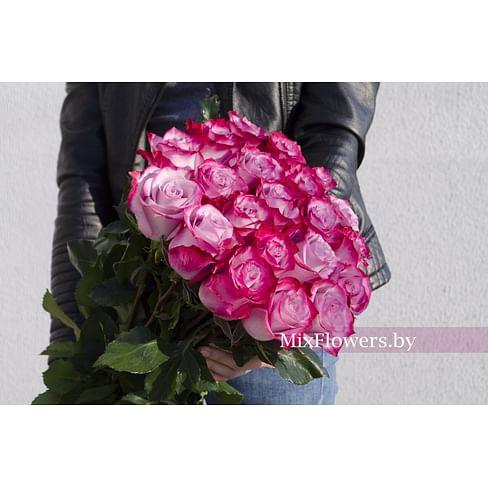 """Букет роз """"Дип"""" 21 роза"""