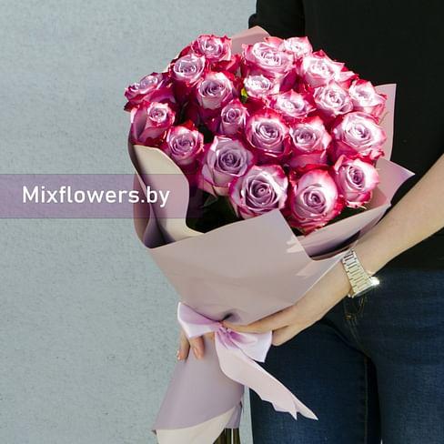 "Букет ""Топаз"" 21 роза"