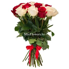 "Букет роз ""Конфетти"" 21 роза"