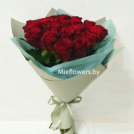 "Букет роз ""Freedom"" 21 роза"