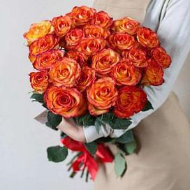 Букет из 25 роз Хай Мэджик 25 роз