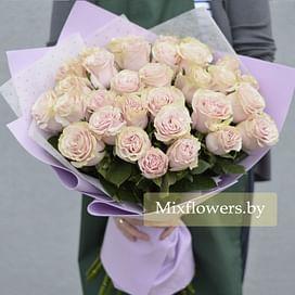 "Букет роз ""Пастила"" 31 роза"