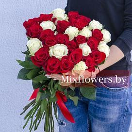 """Букет роз """"Монако"""" 31 роза Эквадорская роза"""