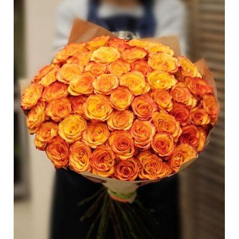 "Букет роз ""Мэджик"" 51 роза Эквадорская роза"