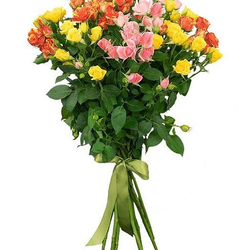 Букет из кустовых роз № 1 15 роз