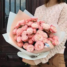 Букет из кустовых роз № 3 15 роз