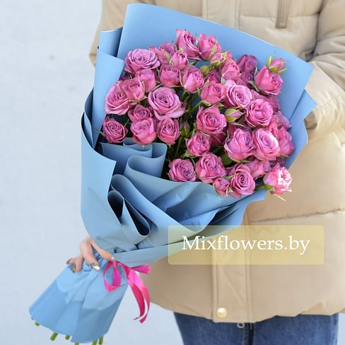 """Букет кустовых роз """"Санди"""""""