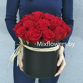 """""""Фридом"""" 25 роз Розы в коробке"""