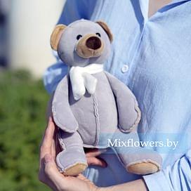 Плюшевый медведь Топа 30 см Серый