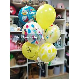 """Сет шаров """"С Днём рождения!"""""""