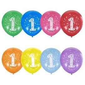 Воздушный шар. Латекс. (12''/30 см) Цифра
