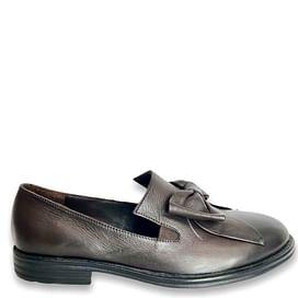 Туфлі Турция темно-коричневі NOD TREND 006