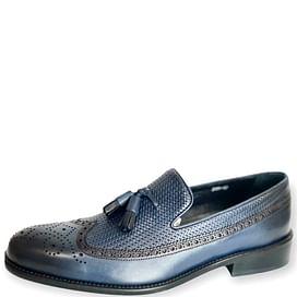 Туфлі Туреччина сині ROVIGO 008
