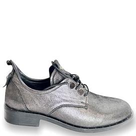 Туфлі Турция темно-срібні NOD TREND 002