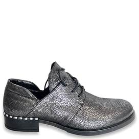 Туфлі Турция темно-срібні NOD TREND 003