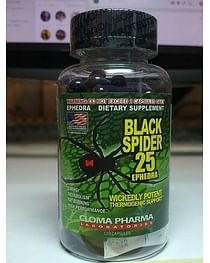 "Черный паук ""Black spider"" Cloma Pharma 25 ephedra"