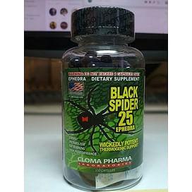 """Черный паук """"Black spider"""" Cloma Pharma"""