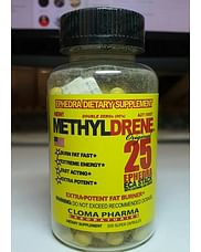 Метилдрен Methyldrene для похудения Термогенные жиросжигатели