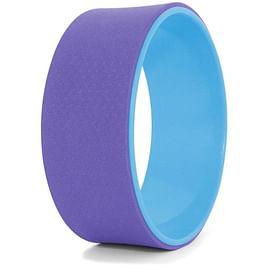 Колесо для йоги, фиолетово-голубое