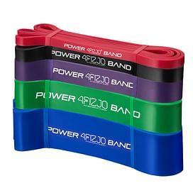 Эспандер-петля, резинка для фитнеса и спорта 4FIZJO Power Band 5 шт 6-46 кг 4FJ0001 SKL41-227485 4FIZJO