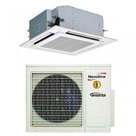 Касетний кондиціонер Neoclima ERP до -23 C Inverter R32