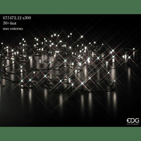 Елочная гирлянда EDG Enzo De Gasperi LUCI LED X300(8 EFF) 30+4M Арт.675472,12