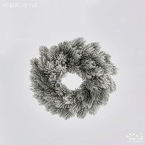 Еловый венок в снегу EDG Enzo De Gasperi Арт.674529,72
