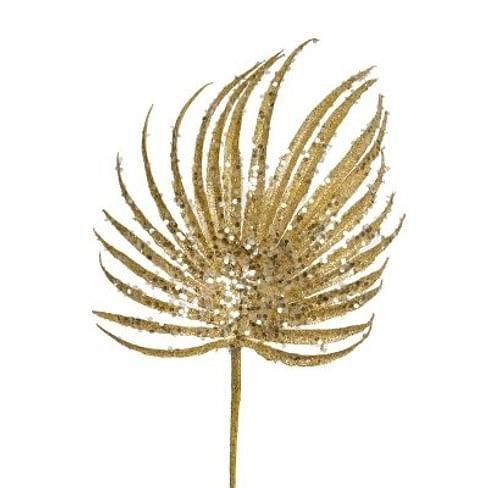 Искусственный цветок SIA GLITTERED PALM STEM Арт.150127
