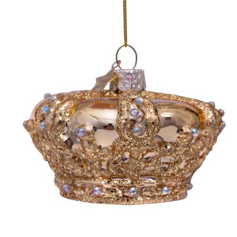 Новогоднее украшение Vondels Gold royal crown Арт.1202740050010