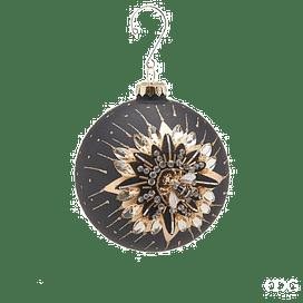 Новогоднее украшение EDG Enzo De Gasperi BLACK-GOLD APE Арт.682892,90