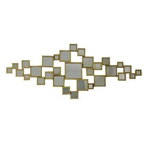 Зеркало Dome Deco mirror diamond shape Арт.M3-S1/GO