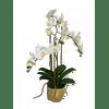 Орхидея в золотом горшке SIA Арт.SIA-4781