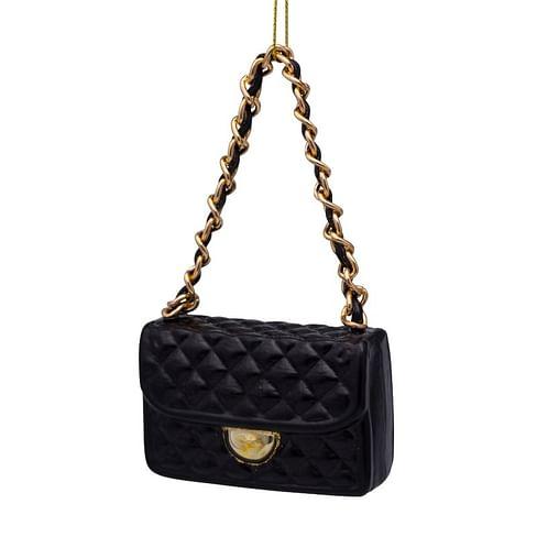 Новогоднее украшение Vondels Black fashion bag Арт.3207000070096