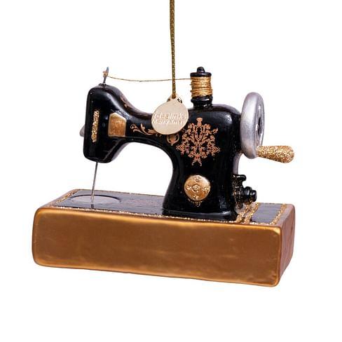 Новогоднее украшение Vondels Vintage sewing machine Арт.3162800090029
