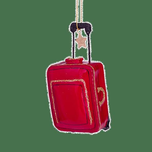 Новогоднее украшение Vondels Red suitcase Арт.1202870095011