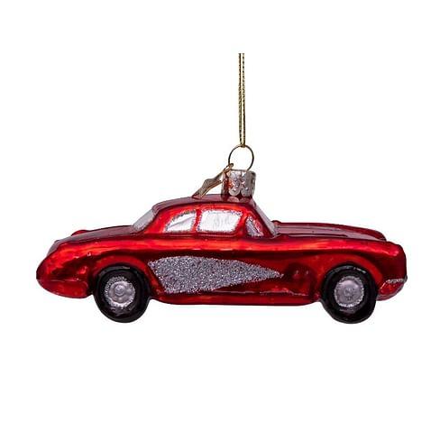Новогоднее украшение Vondels Red car Арт.4202720040014